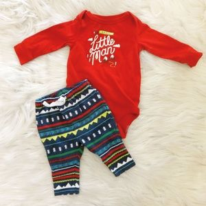 Cat & Jack Bodysuit and Pant Set
